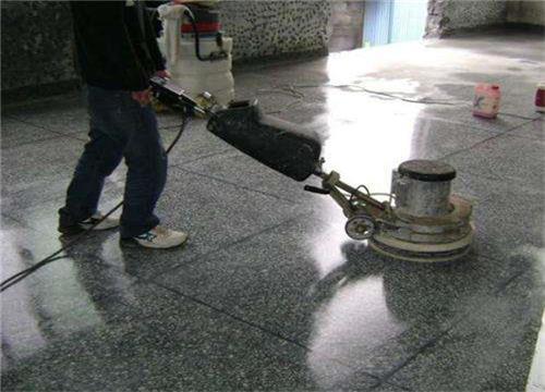 武汉沌口厂房水磨石翻新